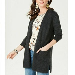 Style & Co XL Black Cardigan 6AO21